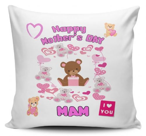 Happy Mother's Day  Novelty Gift Cushion Cover -Variant